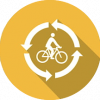 icon recycle bike